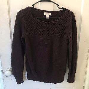 COPY - Maroon Pullover Sweater